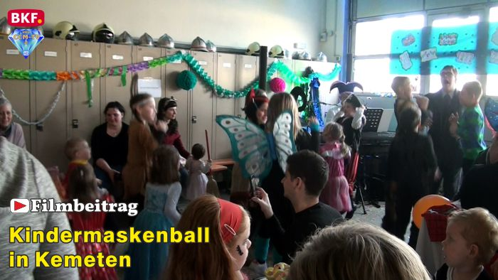 Kindermaskenball in Kemeten