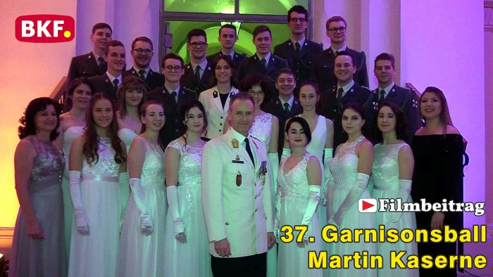 37. Garnisonsball in der Martin Kaserne