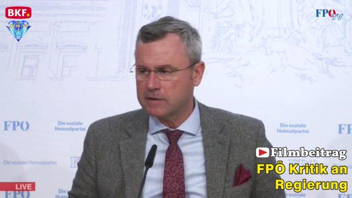 FPÖ Kritik an Regierung