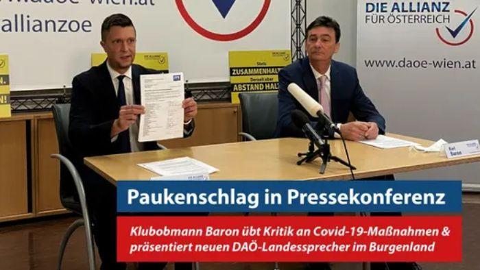 Wieder 14 Austritte bei der FPÖ Burgenland