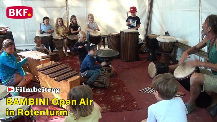 BAMBINI Open Air im GH Farkas in Rotenturm