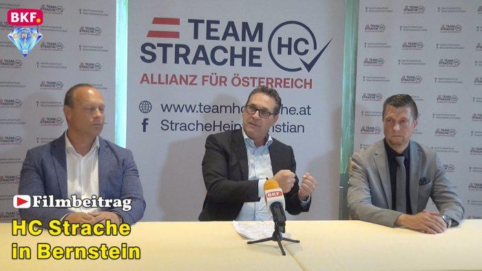 HC Strache besucht das Burgenland