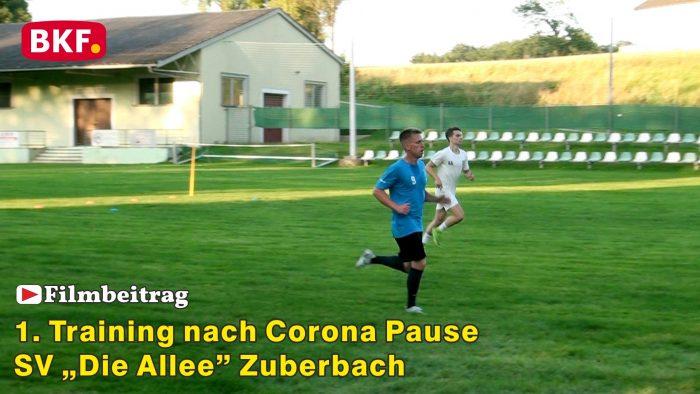 """Trainingsbeginn beim SV """"Die Allee"""" Zuberbach"""