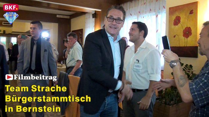 Bürgerstammtisch des Team Strache in Bernstein