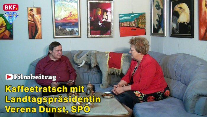 Kaffeetratsch mit Landtagspräsidentin Verena Dunst, SPÖ