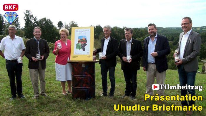 Uhudler Sonderbriefmarke präsentiert