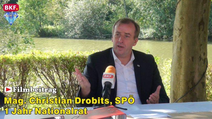 """NR Drobits – """"Unser Mann in Wien"""", das erste Jahr"""