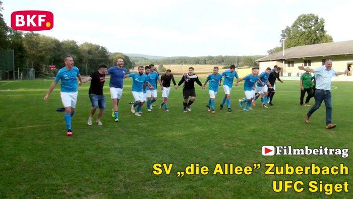 """Fußball SV """"die Allee"""" Zuberbach : UFC Siget, 2. Klasse Süd B"""