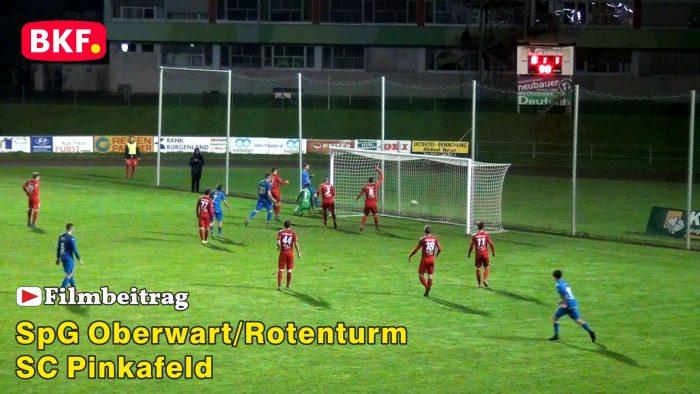 Fußball SpG Oberwart / Rotenturm gegen den SC Pinkafeld, Burgenlandliga