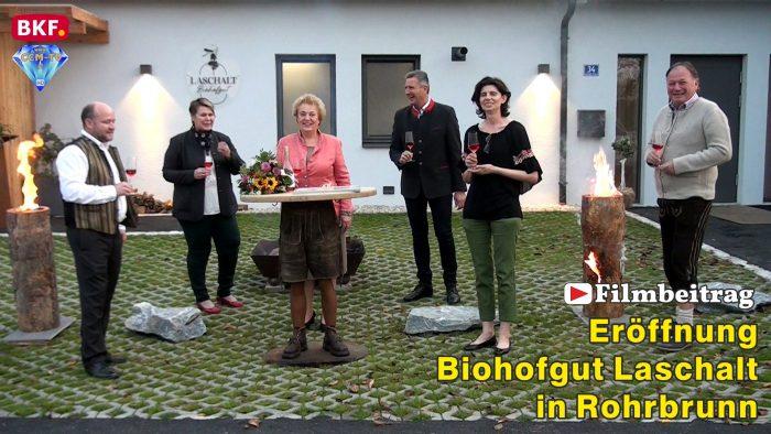Biohofgut Laschalt in Rohrbrunn eröffnet