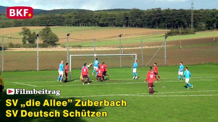 """Fußball SV """"die Allee"""" Zuberbach : SV Deutsch Schützen, 2. Klasse Süd B"""