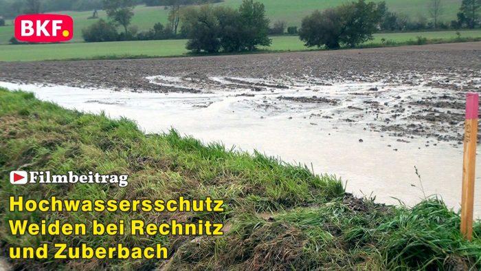 Hochwasserschutz für Weiden bei Rechnitz und Zuberbach