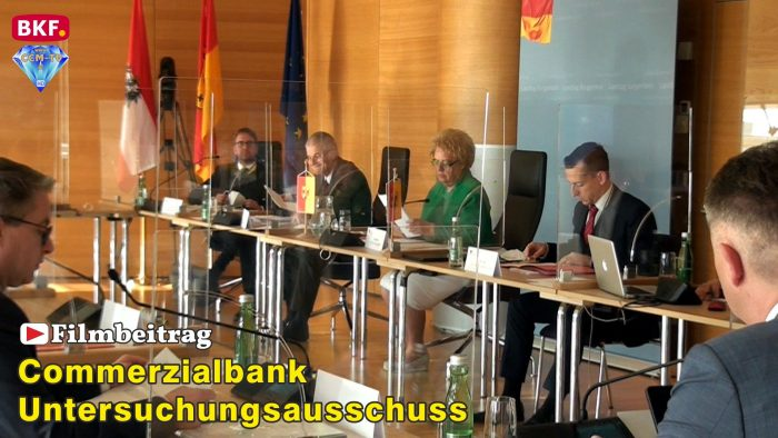Commerzialbank U-Ausschuss – erste Befragungen