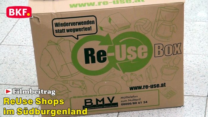 ReUse Shops im Südburgenland