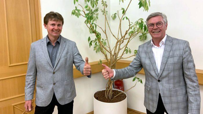 Bürgermeisterwechsel in Oberpullendorf