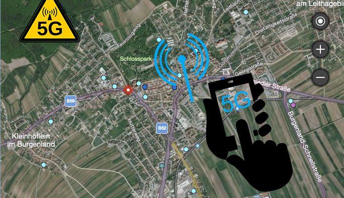 Eisenstadt: Sendeleistungen aller Telekommunikationsanlagen in der Landeshauptstadt