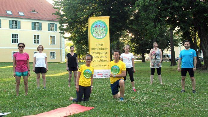"""Start für """"Bewegt im Park"""" mit 69 kostenlosen Bewegungsangeboten im Burgenland"""