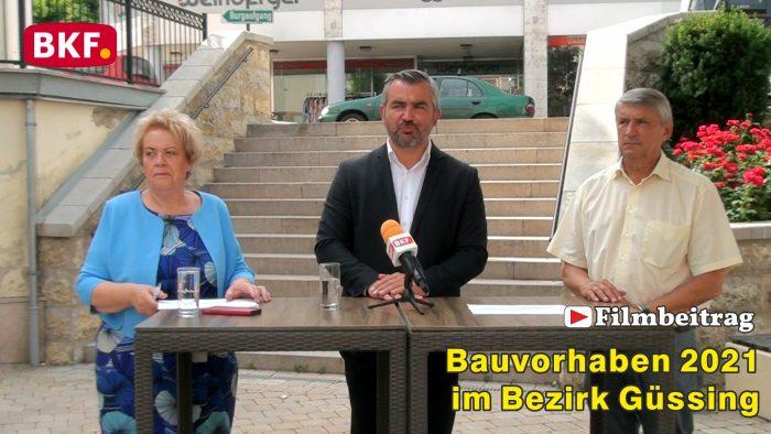 Bauvorhaben 2021 im Bezirk Güssing