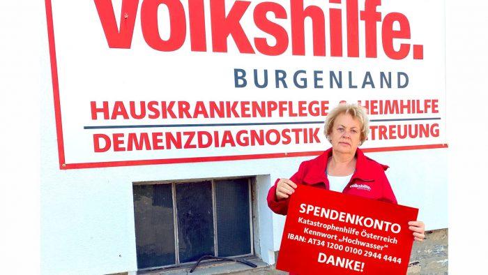 Spendenaufruf der Volkshilfe Österreich