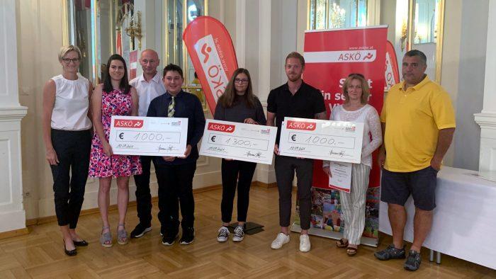 ASKÖ vergibt  Jugendförderpreis und erstmals den Preis für Nachwuchstrainer