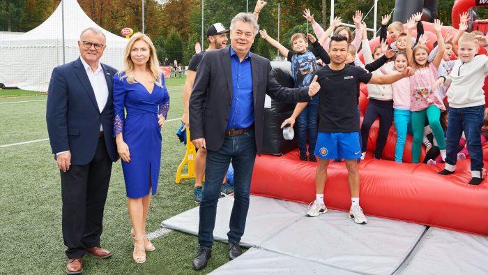 """Schulen und Sportvereine feiern """"Langen Tag des Sports"""""""