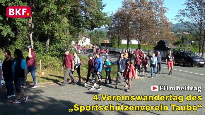 """4. Vereinswandertag des """"Sportschützenverein Taube"""" von Zuberbach nach Podler"""