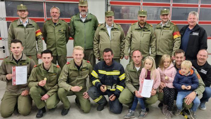 Atemschutzleistungsprüfung (ALP) im Feuerwehrhaus Forchtenstein