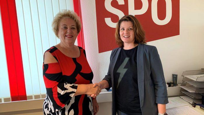 Laky Alexandra neue Ortsparteivorsitzende und Spitzenkandidatin der SPÖ in Strem