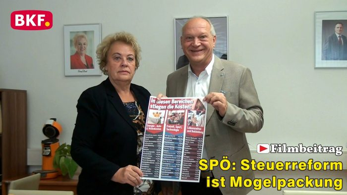 SPÖ: Türkis-grüne Steuerreform Mogelpackung