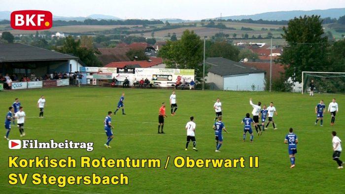 Fußball Korkisch Rotenturm / Oberwart II : SV Stegersbach, 2. Liga Süd
