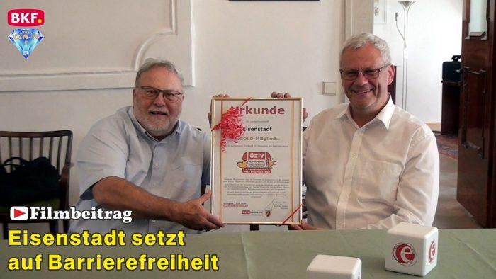 Die Landeshauptstadt Eisenstadt setzt auf Barrierefreiheit