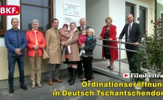 Ordinationseröffnung in Deutsch Tschantschendorf