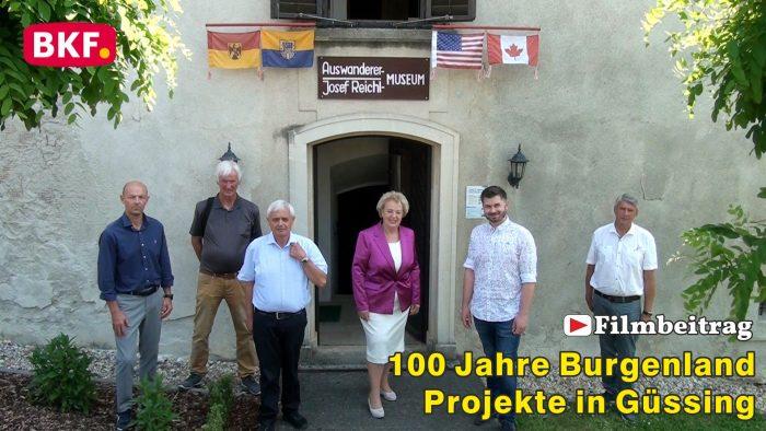 Kulturhistorische Projekte aus Güssing zum 100-jährigen Jubiläum