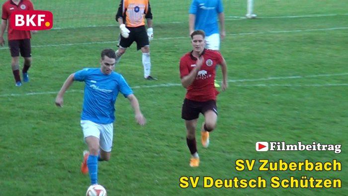 Fußball: SV Zuberbach : SV Dt. Schützen