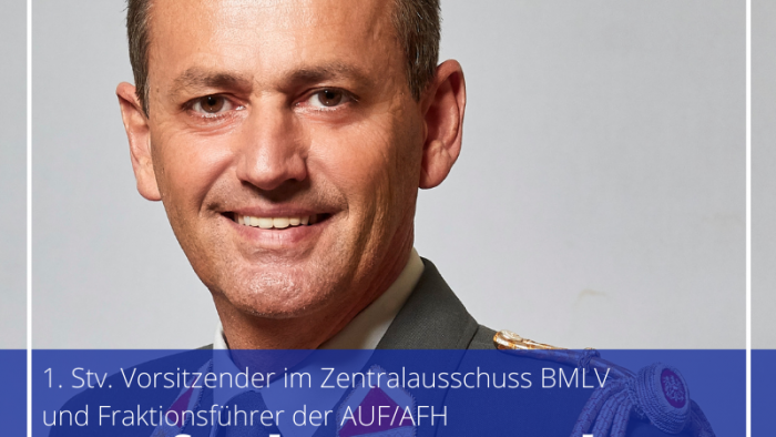Zentralausschuss-AFH Manfred Reindl: Bundesministerin Tanner hat leichtes Spiel